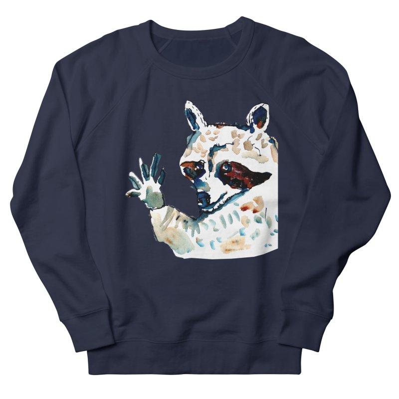 friendly racoon Women's Sweatshirt by julianepieper's Artist Shop