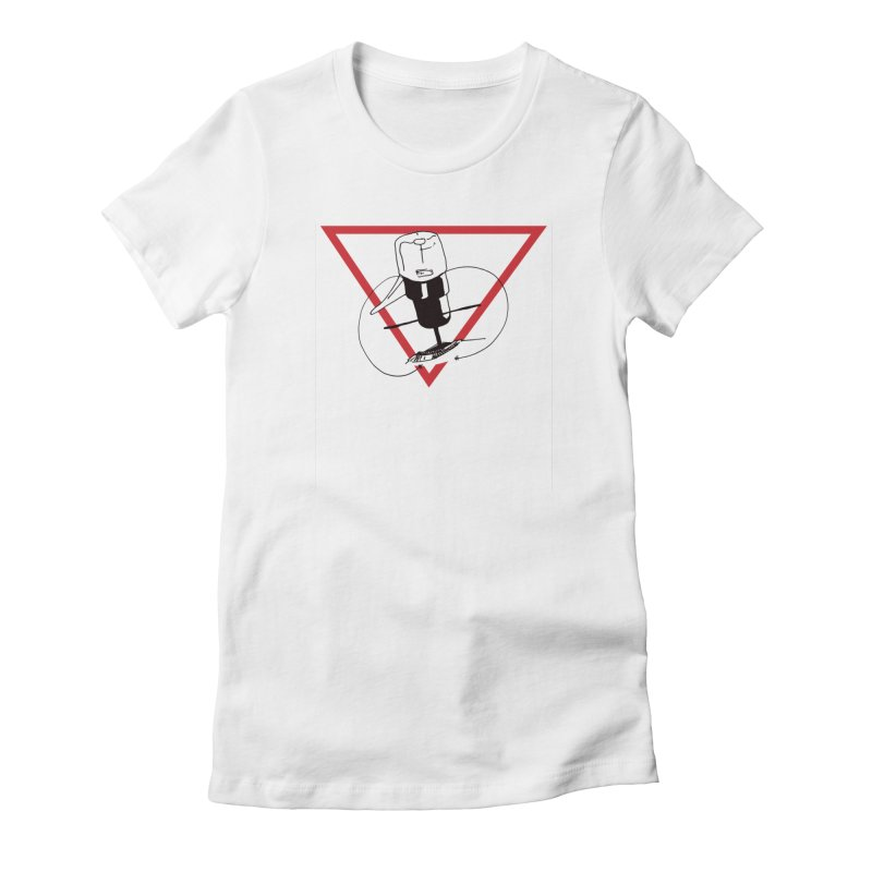 Traz Badge Women's T-Shirt by julianlytle's Artist Shop