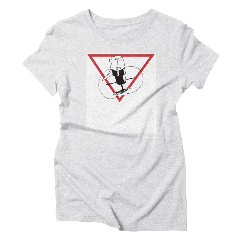 Traz Badge Women's Triblend T-Shirt by julianlytle's Artist Shop