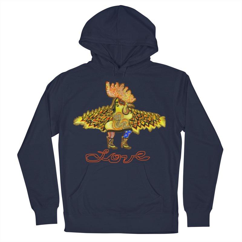 Charli the River Chicken Women's Pullover Hoody by Julie Murphy's Artist Shop