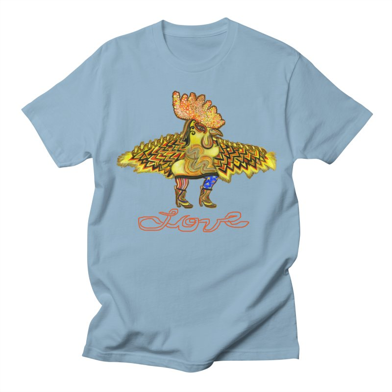 Charli the River Chicken Men's T-shirt by Julie Murphy's Artist Shop