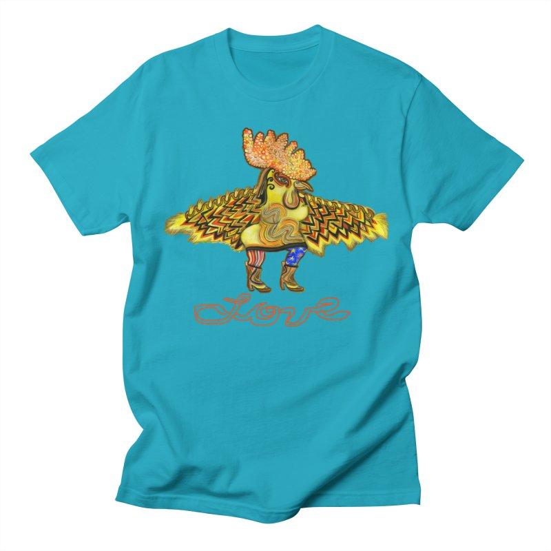 Charli the River Chicken Men's T-Shirt by Julie Murphy's Artist Shop