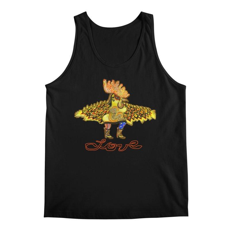 Charli the River Chicken Men's Regular Tank by Julie Murphy's Artist Shop
