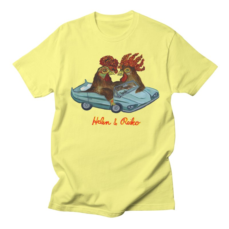 Helen & Reiko Men's T-shirt by Julie Murphy's Artist Shop