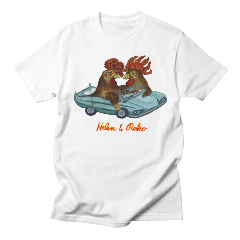 Helen & Reiko Women's Unisex T-Shirt by Julie Murphy's Artist Shop
