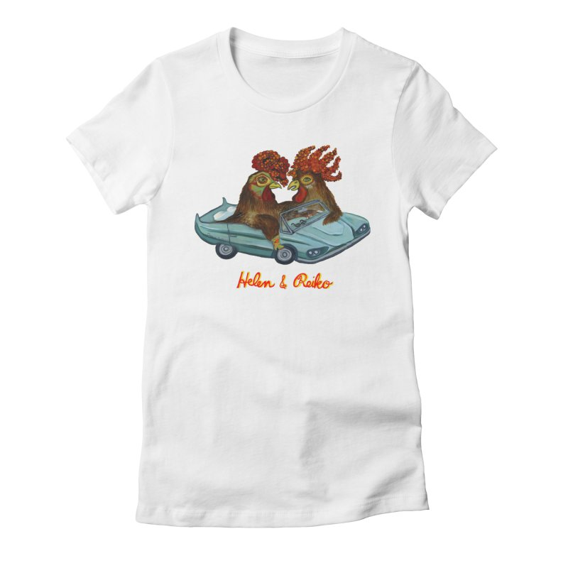 Helen & Reiko Women's T-Shirt by Julie Murphy's Artist Shop
