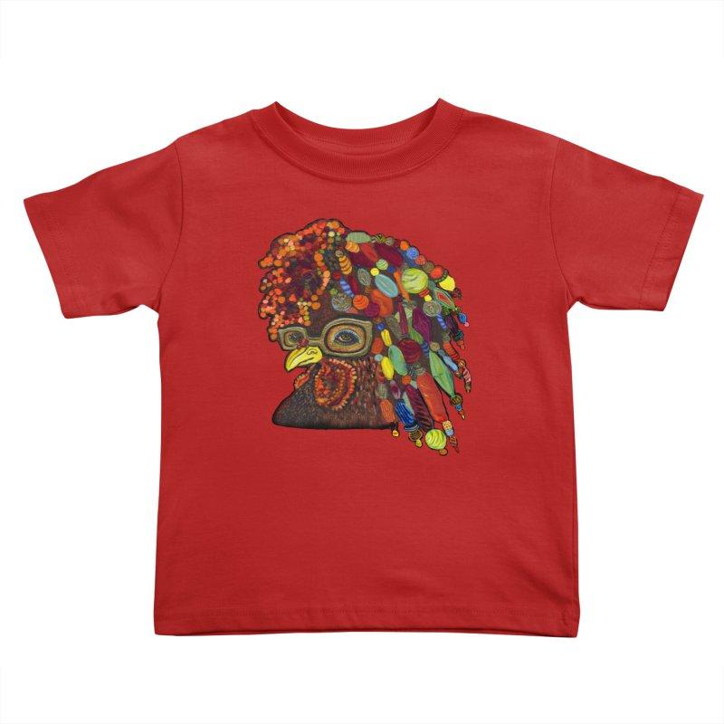 Mardi Gras Rooster   by Julie Murphy's Artist Shop