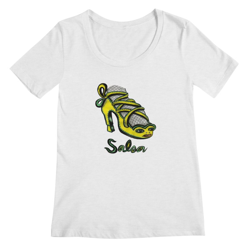 Magic Salsa Shoe   by Julie Murphy's Artist Shop