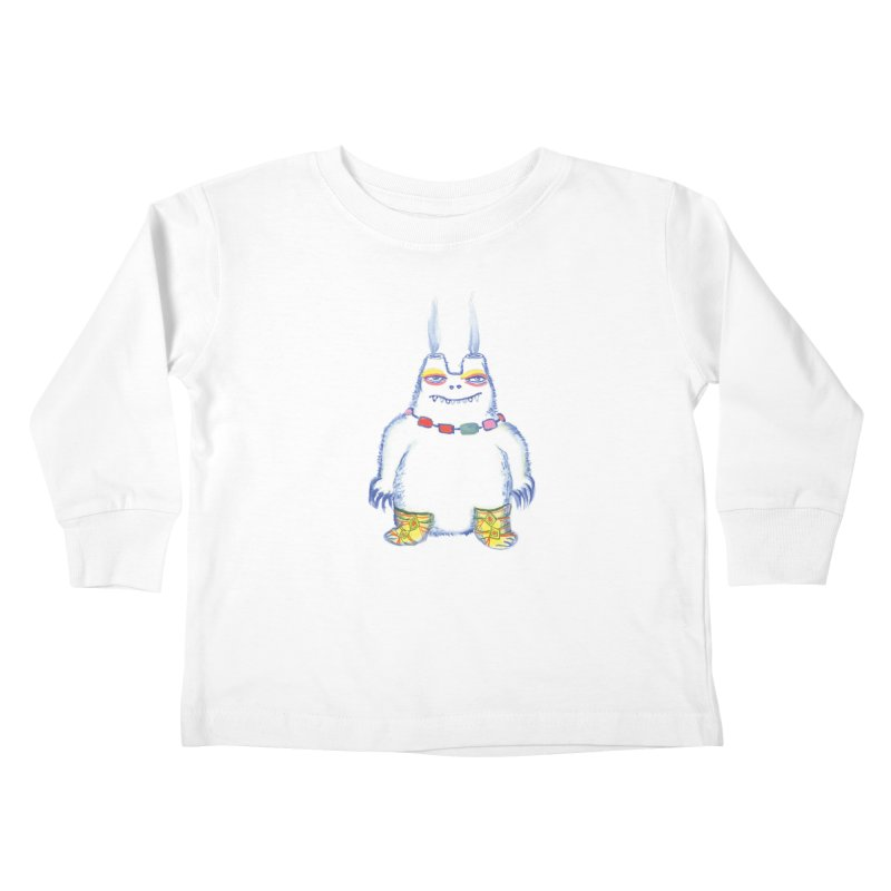Craig Burns Kids Toddler Longsleeve T-Shirt by Julie Murphy's Artist Shop