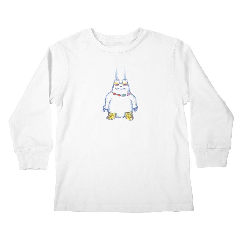 Craig Burns Kids Longsleeve T-Shirt by Julie Murphy's Artist Shop