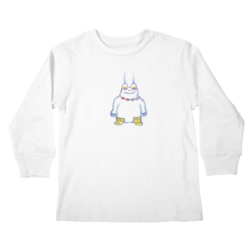 Craig Burns Kids Longsleeve T-Shirt by Julie Murphy's Artist Shop