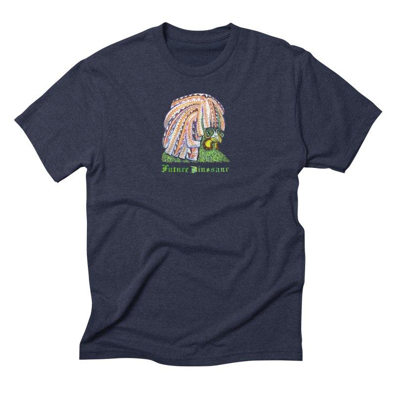 Alejandro Moonbeam Men's Triblend T-Shirt by Julie Murphy's Artist Shop