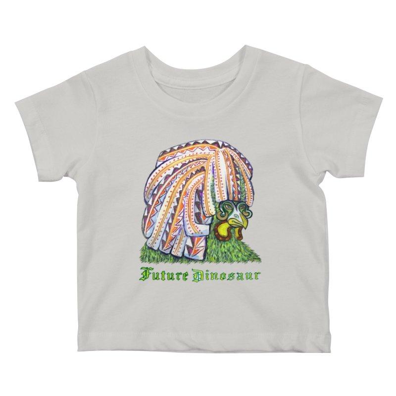 Alejandro Moonbeam Kids Baby T-Shirt by Julie Murphy's Artist Shop