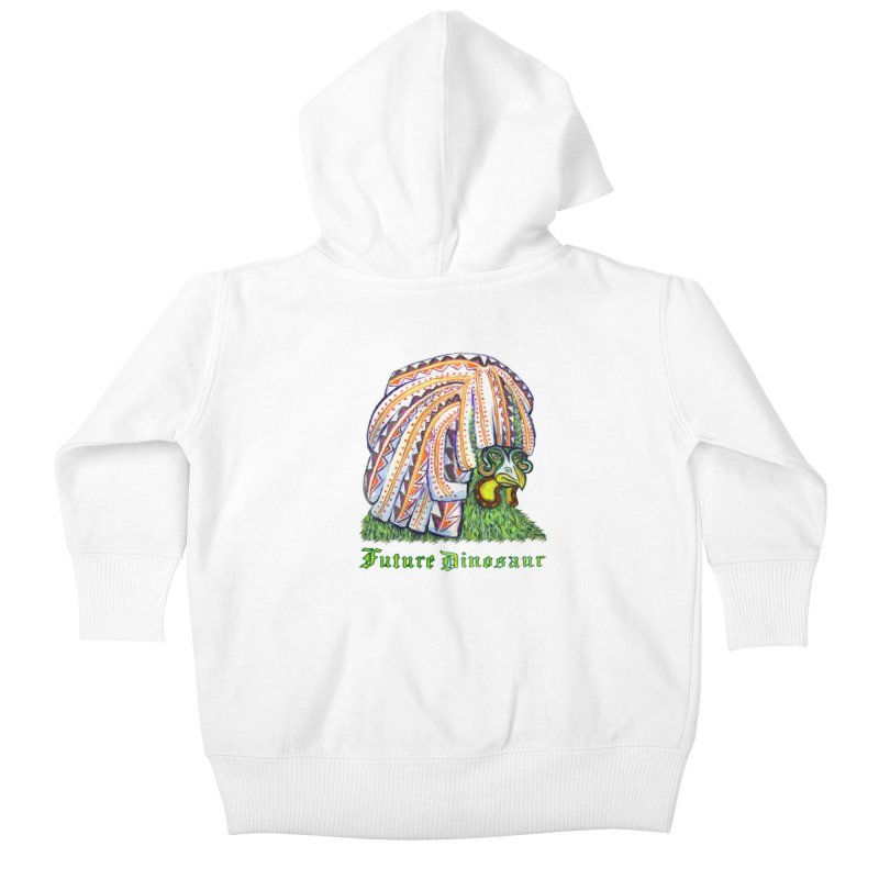 Alejandro Moonbeam Kids Baby Zip-Up Hoody by Julie Murphy's Artist Shop