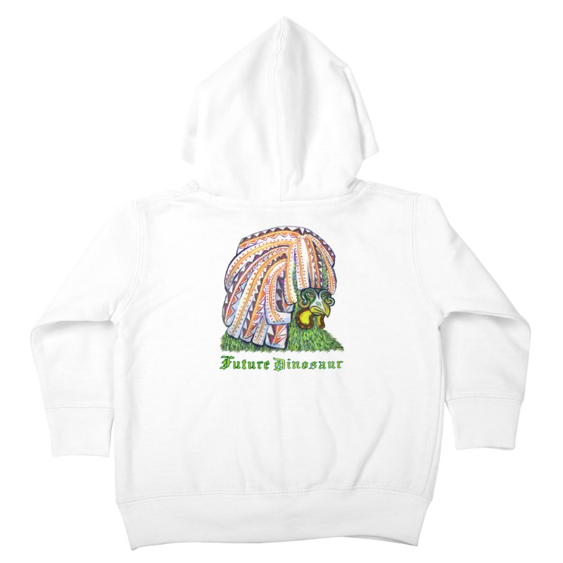 Alejandro Moonbeam Kids Toddler Zip-Up Hoody by Julie Murphy's Artist Shop