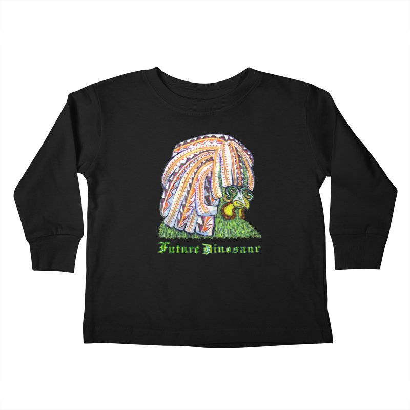 Alejandro Moonbeam Kids Toddler Longsleeve T-Shirt by Julie Murphy's Artist Shop