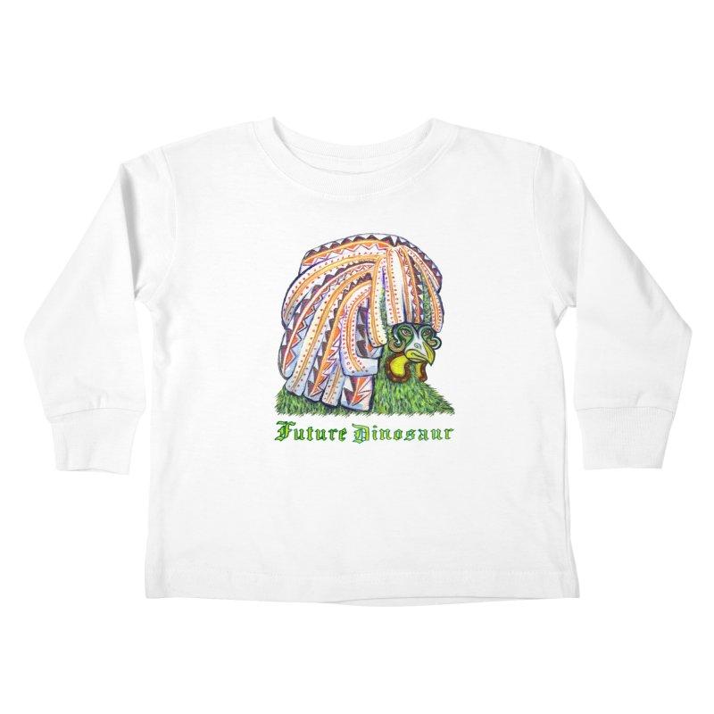 Alejandro Moonbeam Kids Toddler Longsleeve T-Shirt by Julie Murphy's Artist Shop