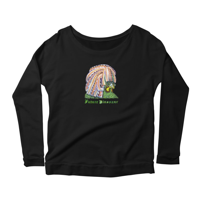 Alejandro Moonbeam Women's Longsleeve Scoopneck  by Julie Murphy's Artist Shop