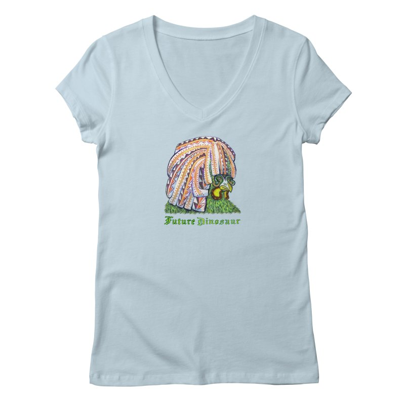 Alejandro Moonbeam Women's V-Neck by Julie Murphy's Artist Shop