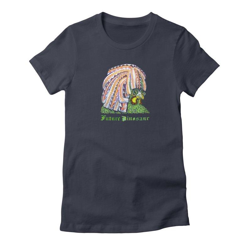 Alejandro Moonbeam Women's Fitted T-Shirt by Julie Murphy's Artist Shop