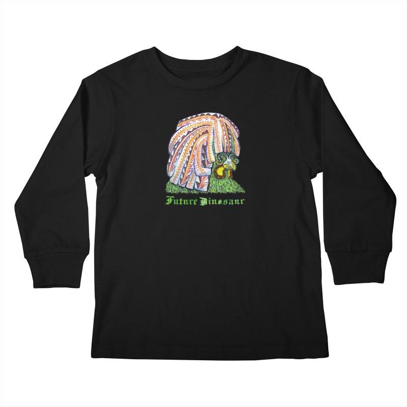 Alejandro Moonbeam Kids Longsleeve T-Shirt by Julie Murphy's Artist Shop