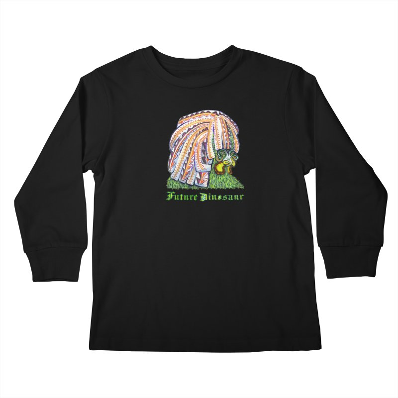 Alejandro Moonbeam Kids Longsleeve T-Shirt by Julie Murphy's Artist Shop