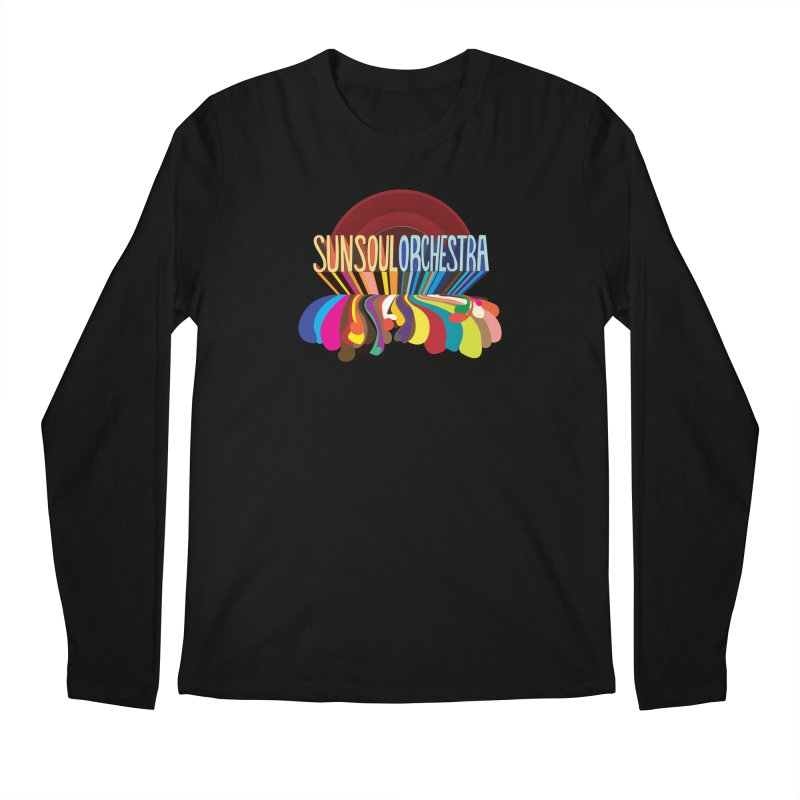Sun Soul Orchestra Men's Regular Longsleeve T-Shirt by Julie Murphy's Artist Shop