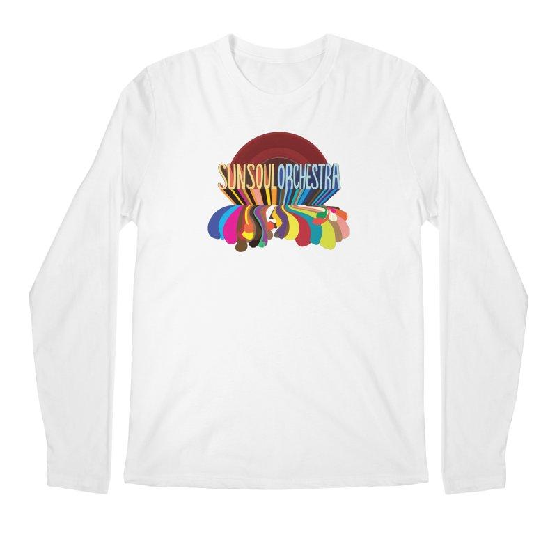 Sun Soul Orchestra Men's Regular Longsleeve T-Shirt by Julie Murphy's Artist Shop