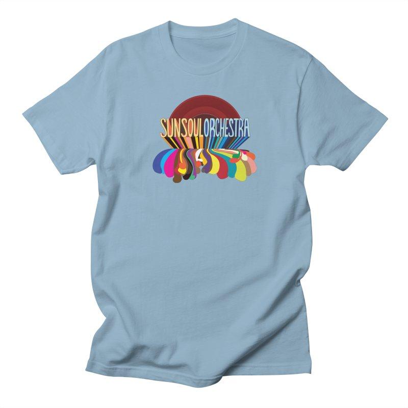 Sun Soul Orchestra Men's Regular T-Shirt by Julie Murphy's Artist Shop