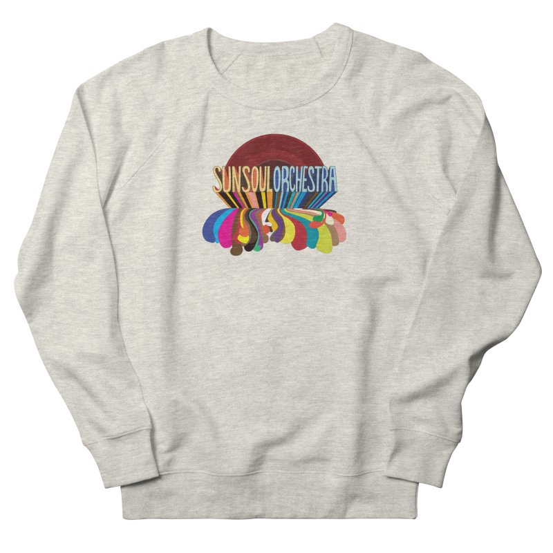 Sun Soul Orchestra Women's French Terry Sweatshirt by Julie Murphy's Artist Shop