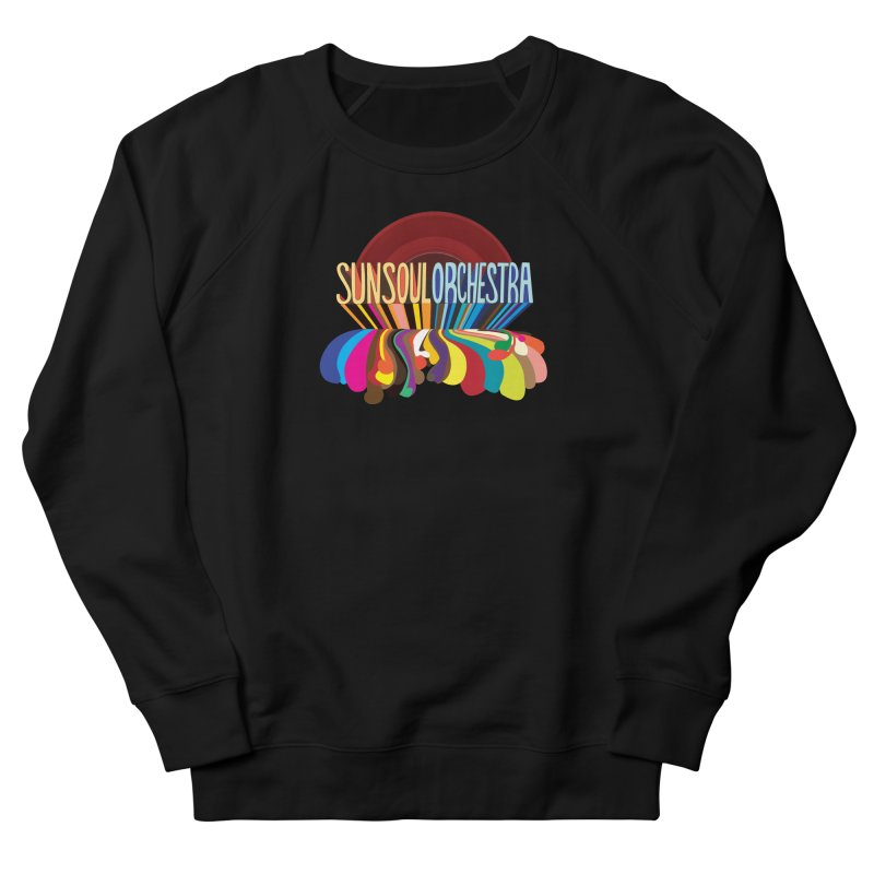 Sun Soul Orchestra Men's French Terry Sweatshirt by Julie Murphy's Artist Shop