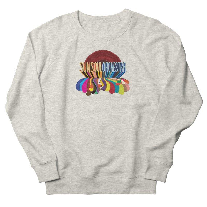 Sun Soul Orchestra Men's French Terry Sweatshirt by Julie Murphy's Artist Shop