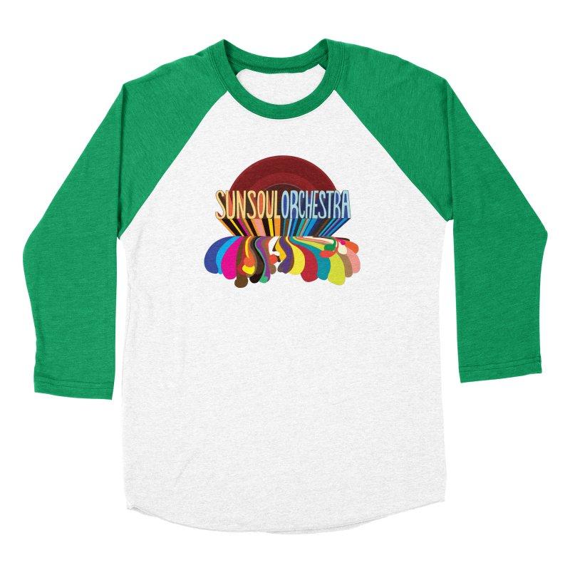Sun Soul Orchestra Women's Baseball Triblend Longsleeve T-Shirt by Julie Murphy's Artist Shop