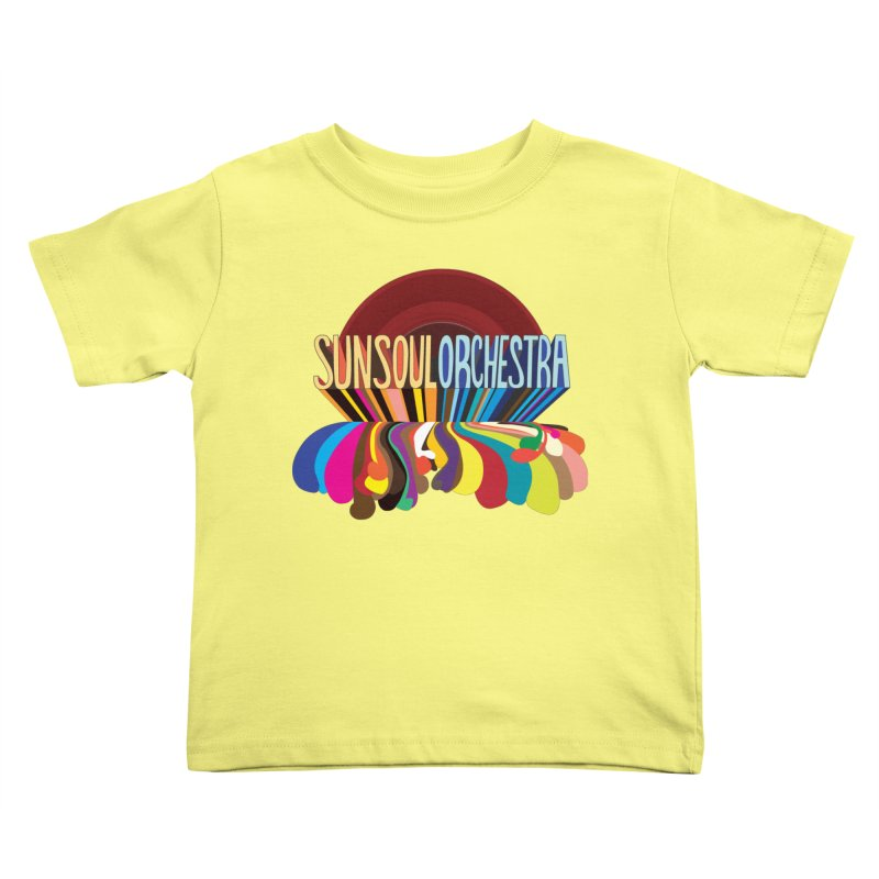 Sun Soul Orchestra Kids Toddler T-Shirt by Julie Murphy's Artist Shop