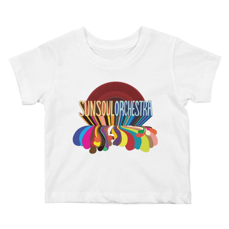 Sun Soul Orchestra Kids Baby T-Shirt by Julie Murphy's Artist Shop