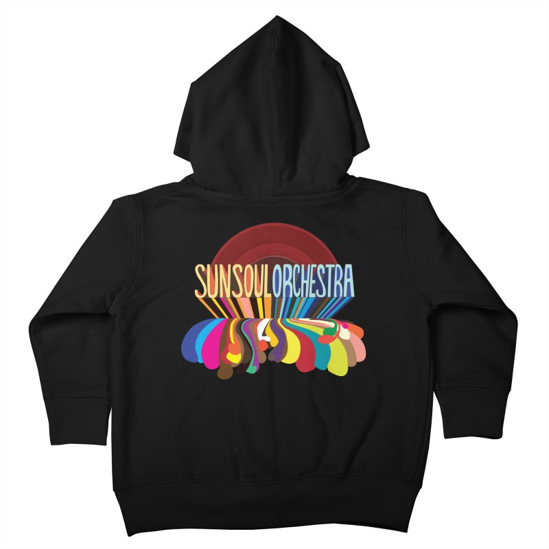 Sun Soul Orchestra Kids Toddler Zip-Up Hoody by Julie Murphy's Artist Shop
