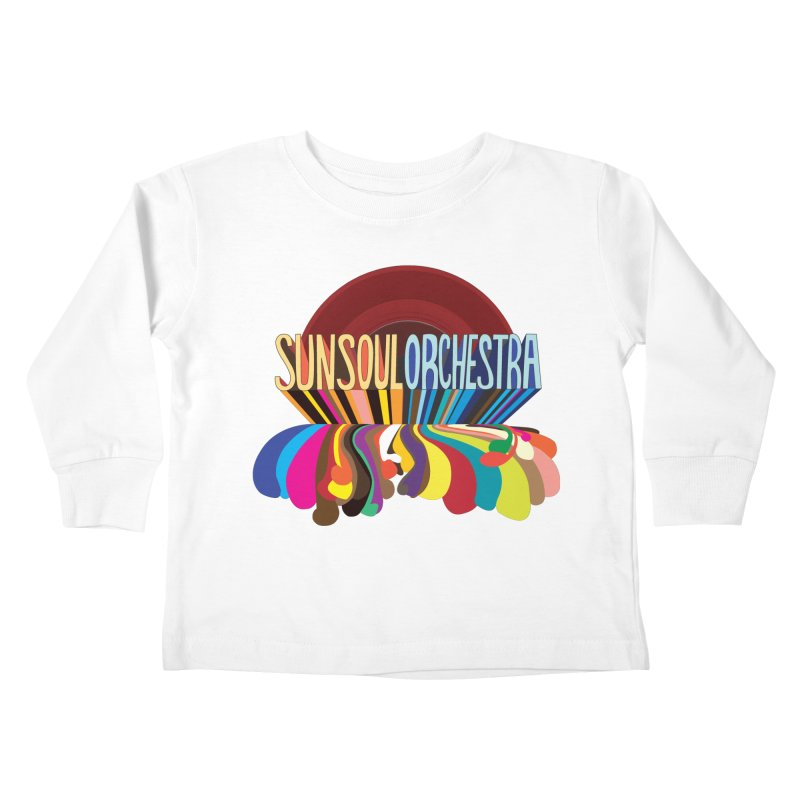 Sun Soul Orchestra Kids Toddler Longsleeve T-Shirt by Julie Murphy's Artist Shop