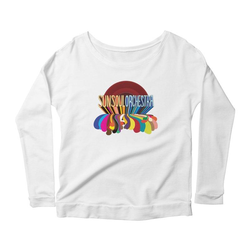 Sun Soul Orchestra Women's Scoop Neck Longsleeve T-Shirt by Julie Murphy's Artist Shop