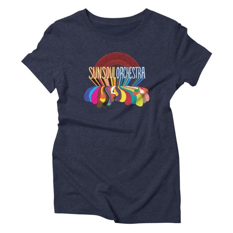 Sun Soul Orchestra Women's Triblend T-Shirt by Julie Murphy's Artist Shop