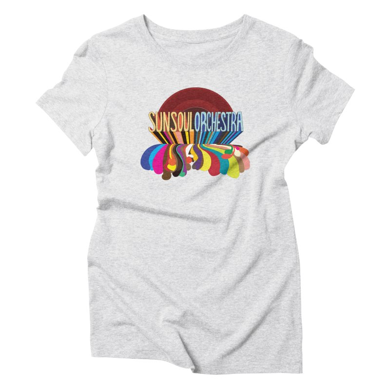 Sun Soul Orchestra Women's Triblend T-Shirt by Julie Murphy's Artist Shop