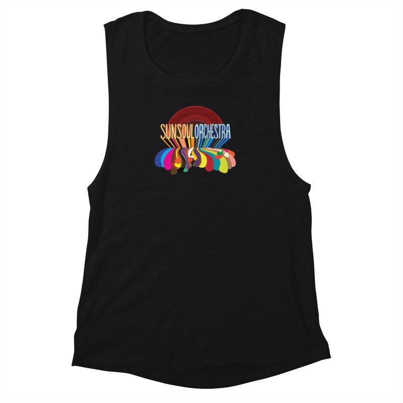 Sun Soul Orchestra Women's Muscle Tank by Julie Murphy's Artist Shop