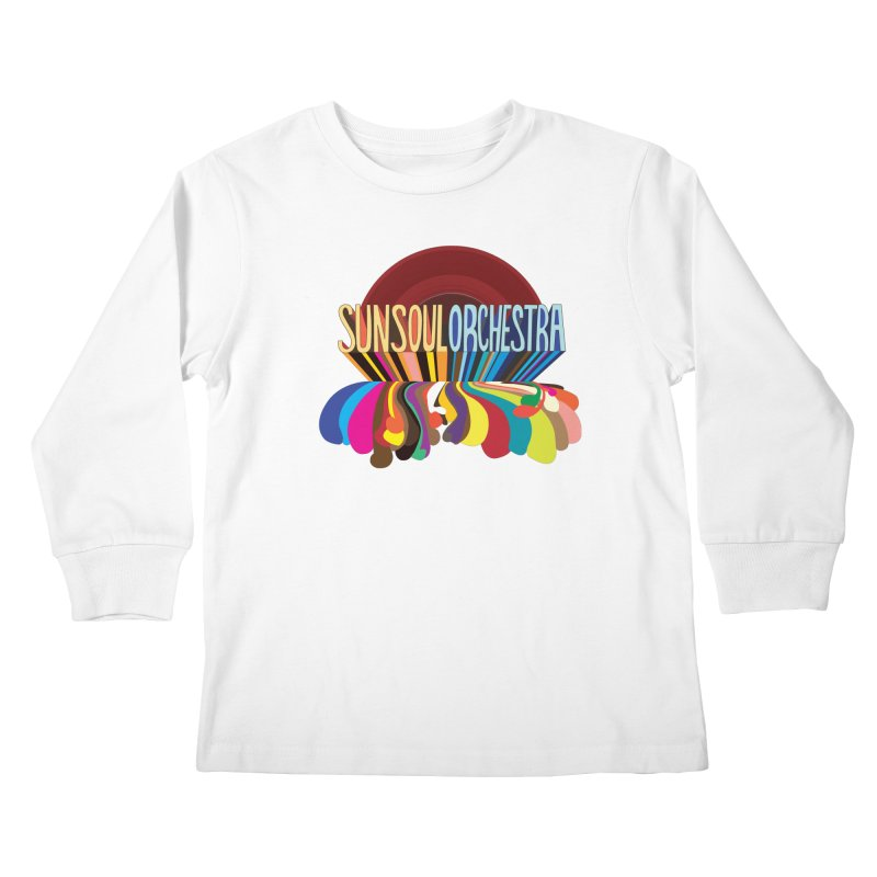 Sun Soul Orchestra Kids Longsleeve T-Shirt by Julie Murphy's Artist Shop