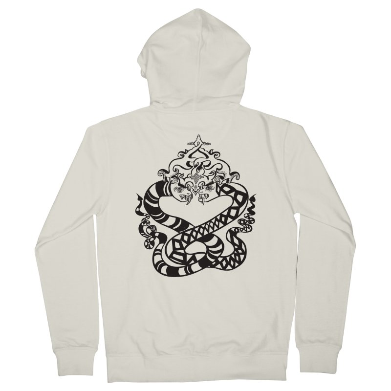 Lovelocked Women's Zip-Up Hoody by Julie Murphy's Artist Shop