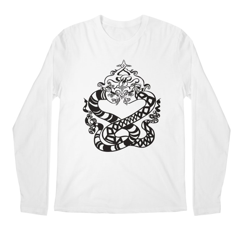 Lovelocked Men's Regular Longsleeve T-Shirt by Julie Murphy's Artist Shop