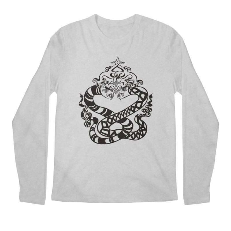 Lovelocked Men's Regular Longsleeve T-Shirt by Julie Murphy's Artist Shop