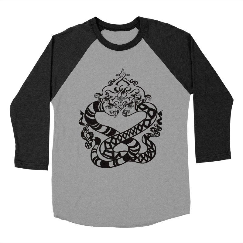 Lovelocked Women's Baseball Triblend T-Shirt by Julie Murphy's Artist Shop