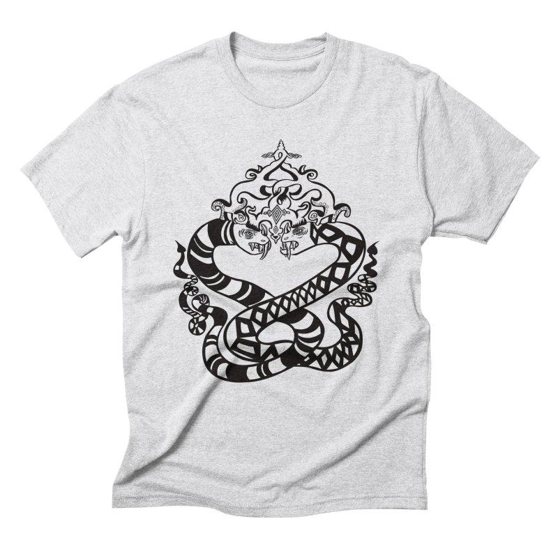 Lovelocked Men's Triblend T-shirt by Julie Murphy's Artist Shop