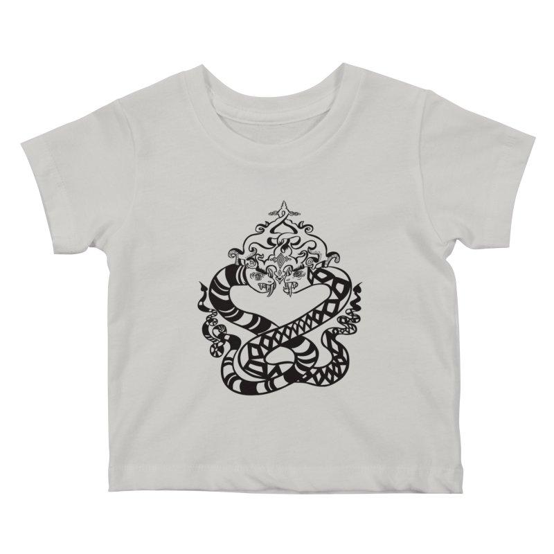 Lovelocked Kids Baby T-Shirt by Julie Murphy's Artist Shop