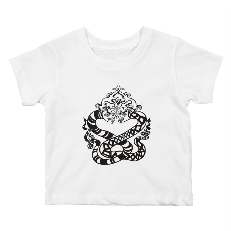 Lovelocked Kids Baby T-Shirt by Julie Murphy's Artist Shop