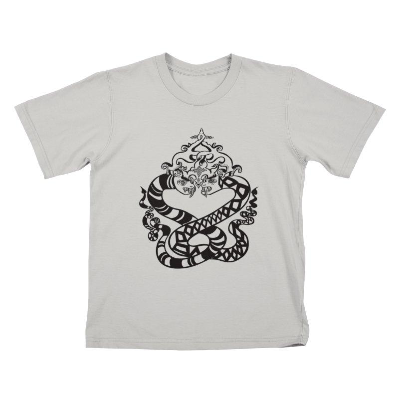 Lovelocked Kids T-shirt by Julie Murphy's Artist Shop